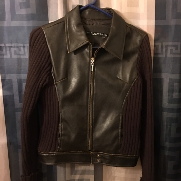 Rampage Jackets & Blazers - Rampage chocolate jacket