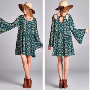 tla2 Dresses & Skirts - BOHO DRESSES WITH BACK CUT OUTS!