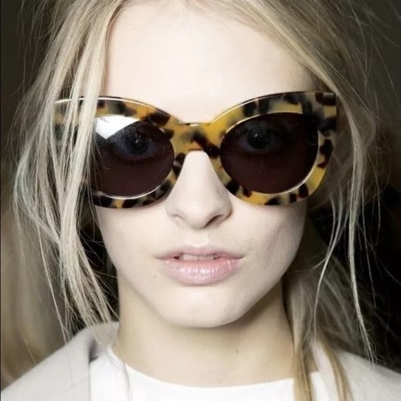 Northern Lights cat-eye acetate sunglasses Karen Walker Eyewear mHGm8czTY