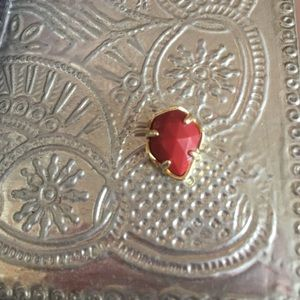 Kendra Scott red charm