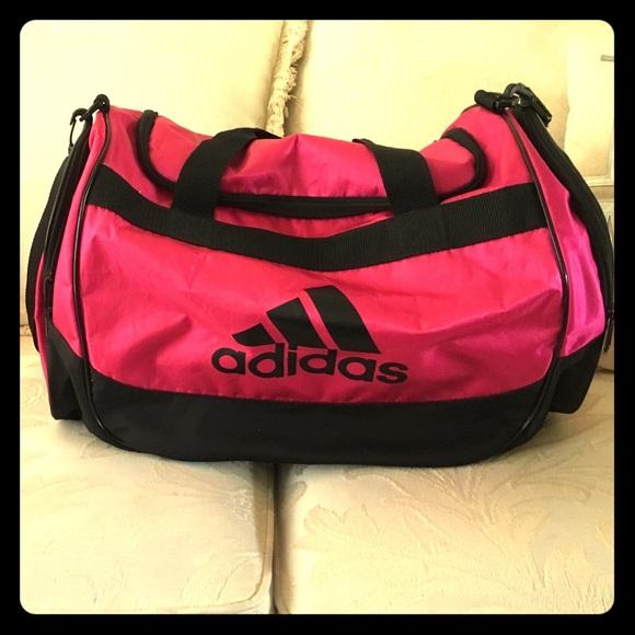 Adidas Bags   Hot Pink Duffle Bag   Poshmark d350a66c1d