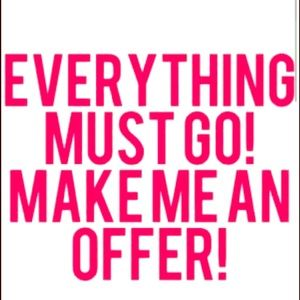 Other - PLEASE MAKE ME A REASONABLE OFFER! Enjoy shopping!