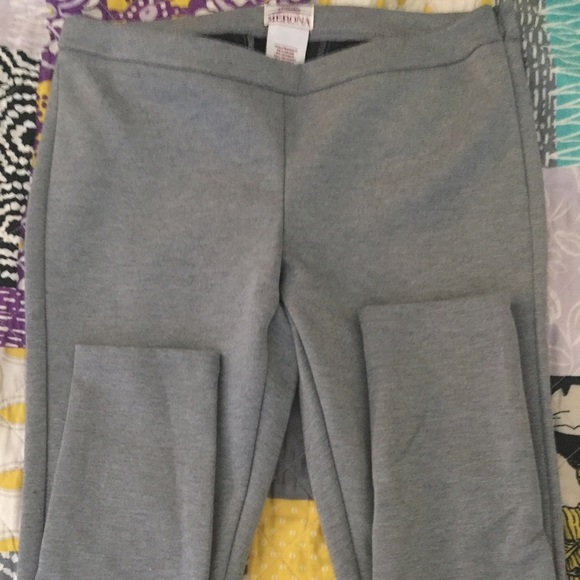 86440169c2252b Merona Pants | Side Zip Grey Leggings | Poshmark