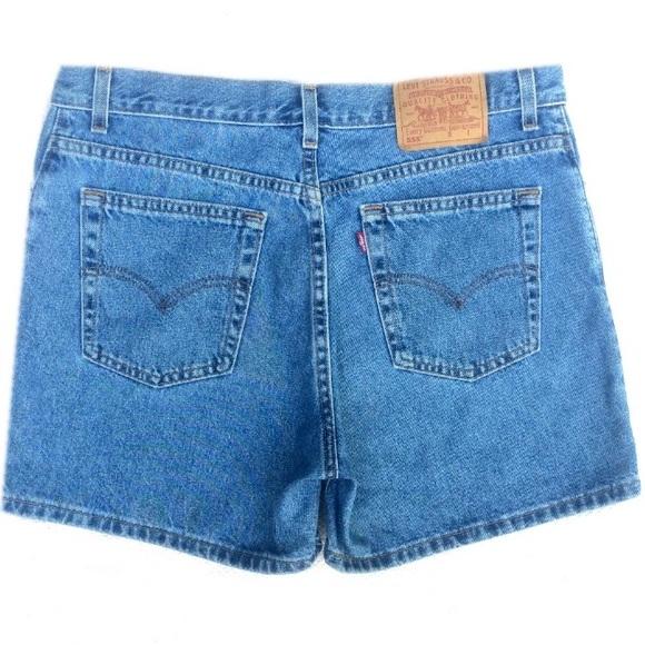 537cb77625 Levi's Shorts | Vintage Levis 555 Guys Fit Denim | Poshmark