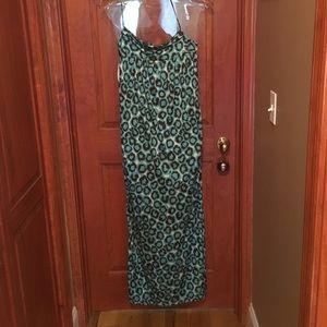 DVF Spaghetti strap dress 