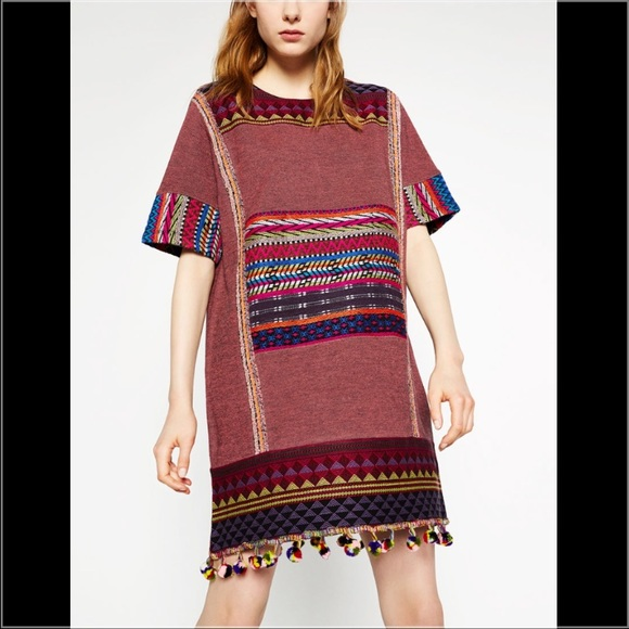 232e9cff Zara Shift Dress - Pom Poms!! NWT. Zara. M_578914ed2de51240ba03e7e4.  M_578914ee2de51240ba03e7e6. M_578914ee2de51240ba03e7e7.  M_578914ef2de51240ba03e7e8