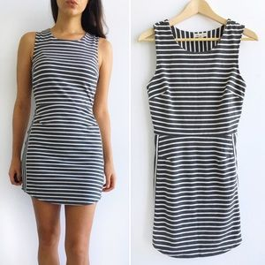 silence + noise Dresses & Skirts - Silence + Noise Striped BodyCon Dress