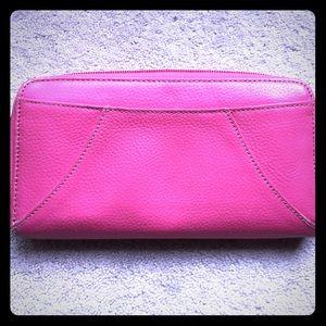 Handbags - Pink Leather Wallet