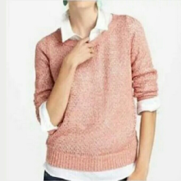 74% off Anthropologie Sweaters - Anthropologie Guinevere Pink Gold ...
