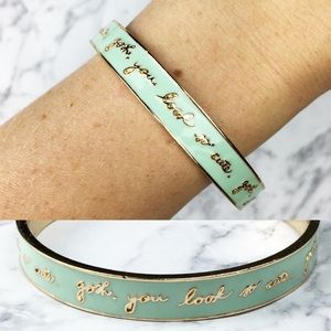 NEW! Gosh you look cute mint bangle bando
