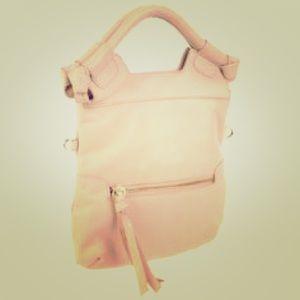 Blush pink Foley + Corinna Disco City bag