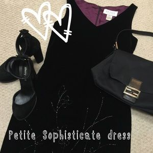 Petite Sophisticate Dresses & Skirts - 💥Sale•Price FIRM💥PetiteSophisticate velvet dress