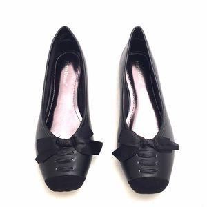 Pierre Dumas Shoes - Pierre Dumas Black Flats