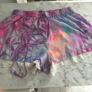 Sabo Skirt Floral shorts