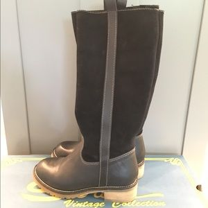 Sbicca Shoes - SALE Tall leather/suede black boots NWT