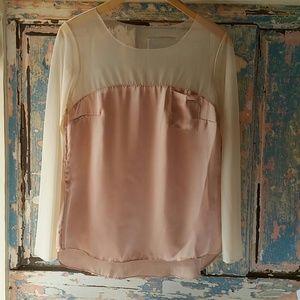 Satin blouse very elegant
