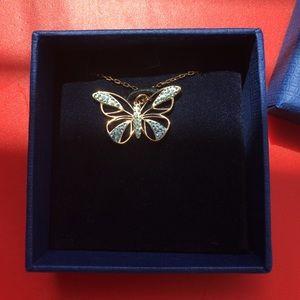 Swarovski Jewelry - Swarovski butterfly pendant