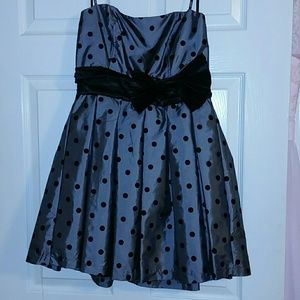 XOXO size 9 Polka Dot Party Dress