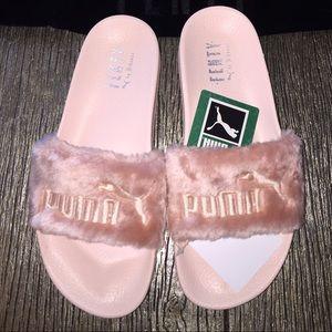 Rihanna Fenty Puma Pels Lysbilder Rosa qSWJA