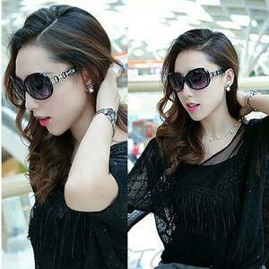 Retro Vintage Oversized fashion sunglasses