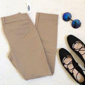 "Old Navy Pants - NWT ""The Pixie"" Khaki Crop Pant"