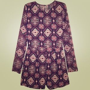 H&M Patterned Romper