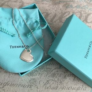 ❗️❗️SOLD❗️❗️Tiffany & Co. Heart necklace