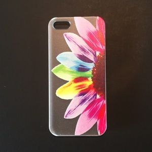 iPhone 5 6 6Plus Color Sunflower Henna Boho Case