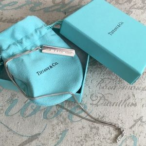 Tiffany & Co. Bar Necklace