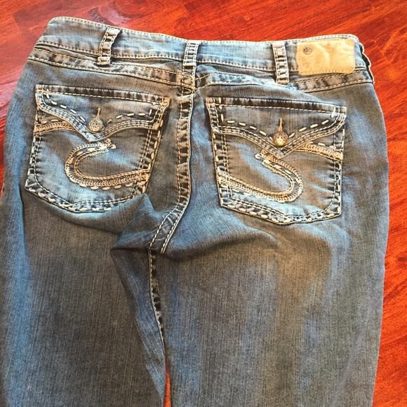 74% off Silver Jeans Denim - Silver jeans Suki flap Capri from ...