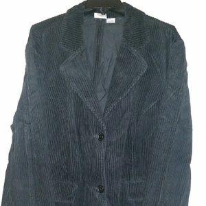 c429a97a5ab7b Newport News Jackets   Coats - Plus size corduroy blazer