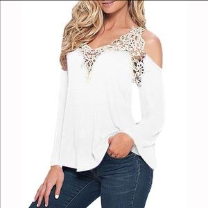 Tops - Elegant and Sexy Off Shoulder Long Sleeve Top