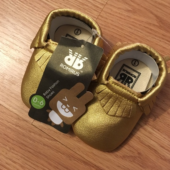 Shoes | Baby Romirus Moccasins New Size