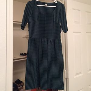 Old Navy Dresses & Skirts - Green and black striped dress