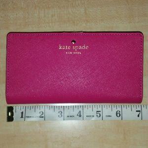 Kate Spade | NWT Fushia pink wallet