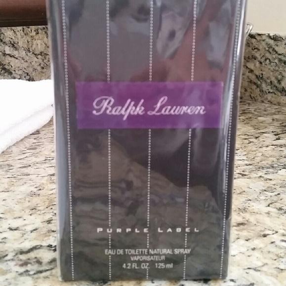 ralph lauren other | purple label perfume | poshmark