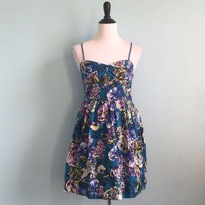 Xhilaration Dresses & Skirts - Blue Summery Floral Dress