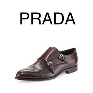 Prada Other - Spoil your man, Prada Double Monk Strap 🇬🇧 8.5
