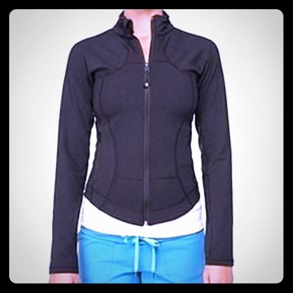 d2383b715f lululemon athletica Jackets & Coats | Lululemon Black Shape Jacket ...