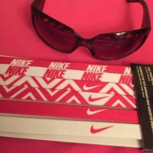Nike Accessories - 2 LEFT! Nike Printed Headbands Assorted 6 PK