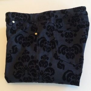 Mossimo Supply Co. Denim - Like New Cool Pattern Mossimio Skinny Size 6