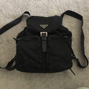 prada brown leather bowler bag - 58% off Handbags - Prada backpack. Authentic from Stacy??????\u0026#39;s ...
