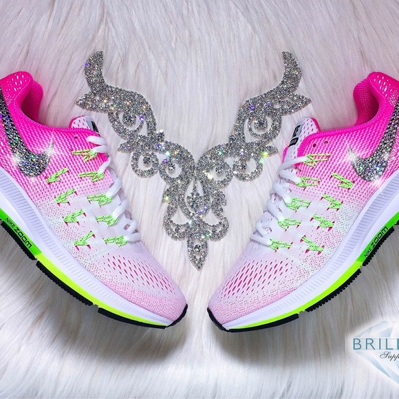 Swarovski Nike Pegasus 33 - Bling Nikes w Crystals 750e700db279