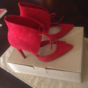 Red Zara shoes