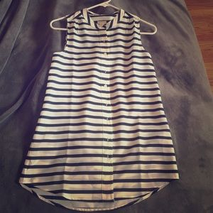 J. Crew striped blouse