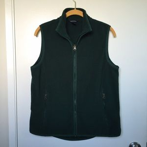 Lands' End Jackets & Blazers - Lands' End Fleece Vest