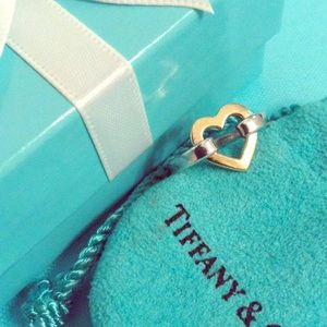 Tiffany & Co. Jewelry - Authentic Tiffany & Co silver 18k heart and silver