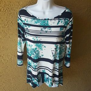 Print top by Sparrow for Anthropologie