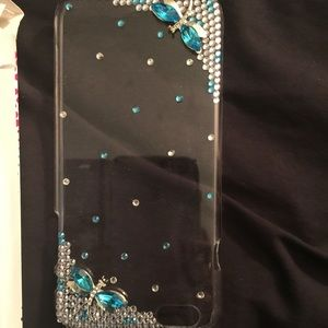 Accessories - Brand New IPhone 6plus rhinestone phone cover