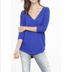 Express London Tunic Sweater